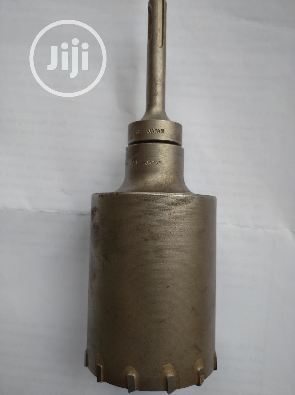 Core Drilling Bit, Made In Japan.