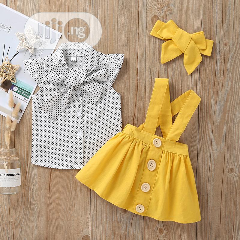 Girls 2piece Clothing Set