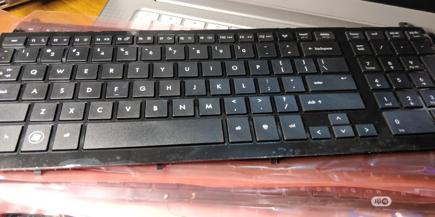 HP Probook 4720S Black US With Frame Laptop Keyboard
