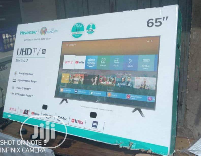 Brand New Hisense(65inchesb7100)4K Smart Wi-Fi Internet TV