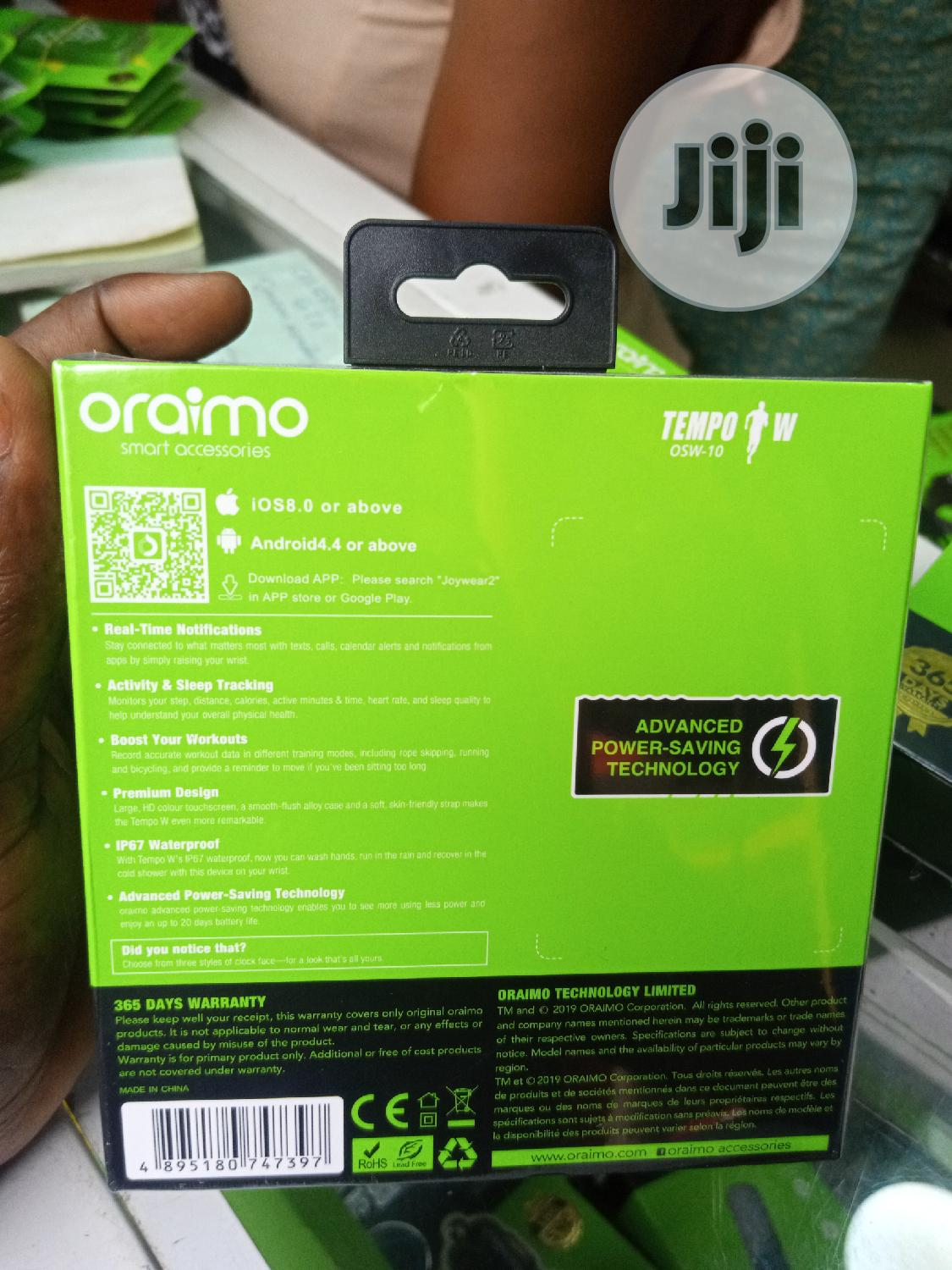Oraimo Osw-10 Smart Watch | Smart Watches & Trackers for sale in Ikeja, Lagos State, Nigeria