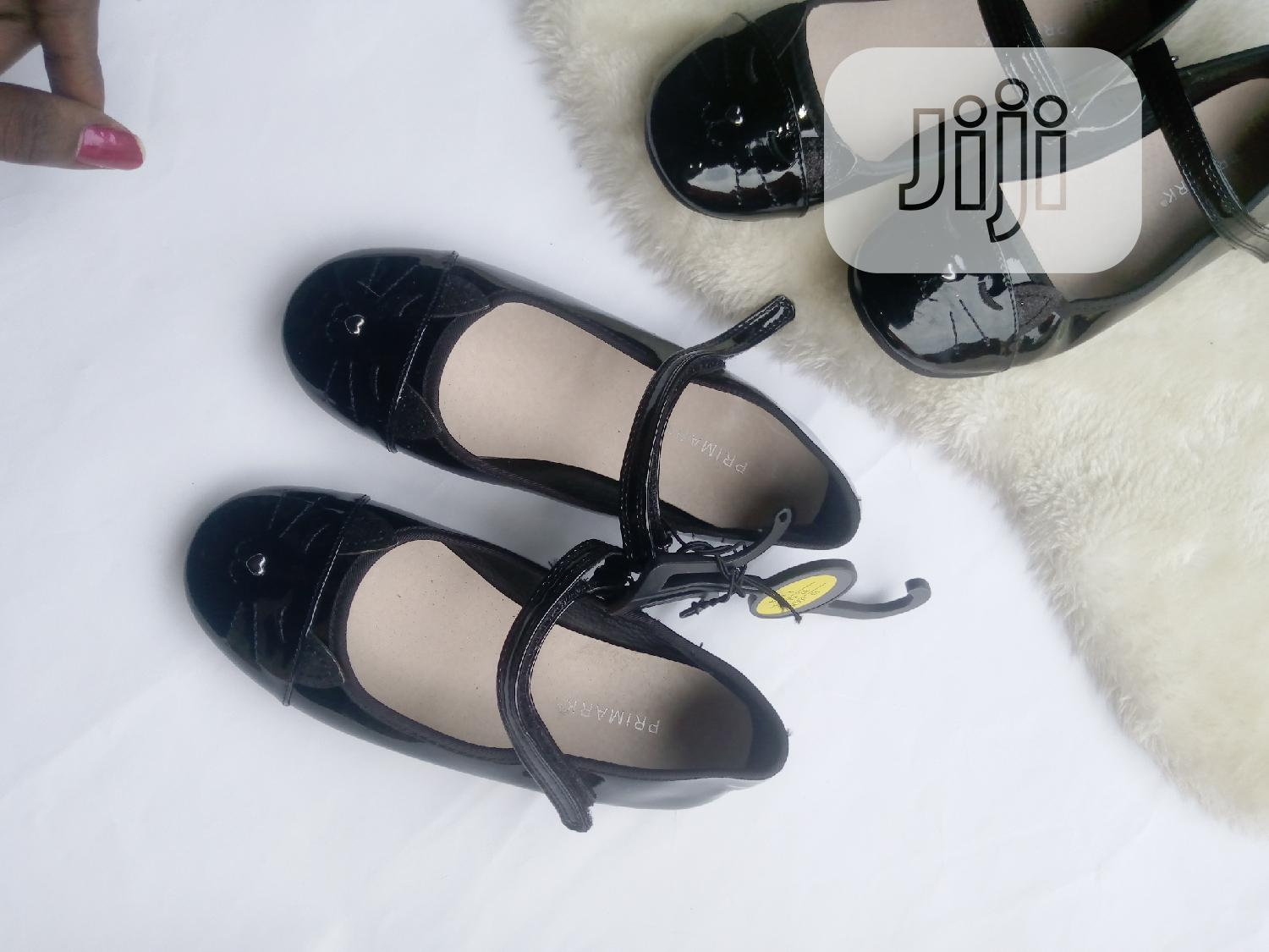 Black Patent Girls Outing Shoe | Children's Shoes for sale in Ifako-Ijaiye, Lagos State, Nigeria