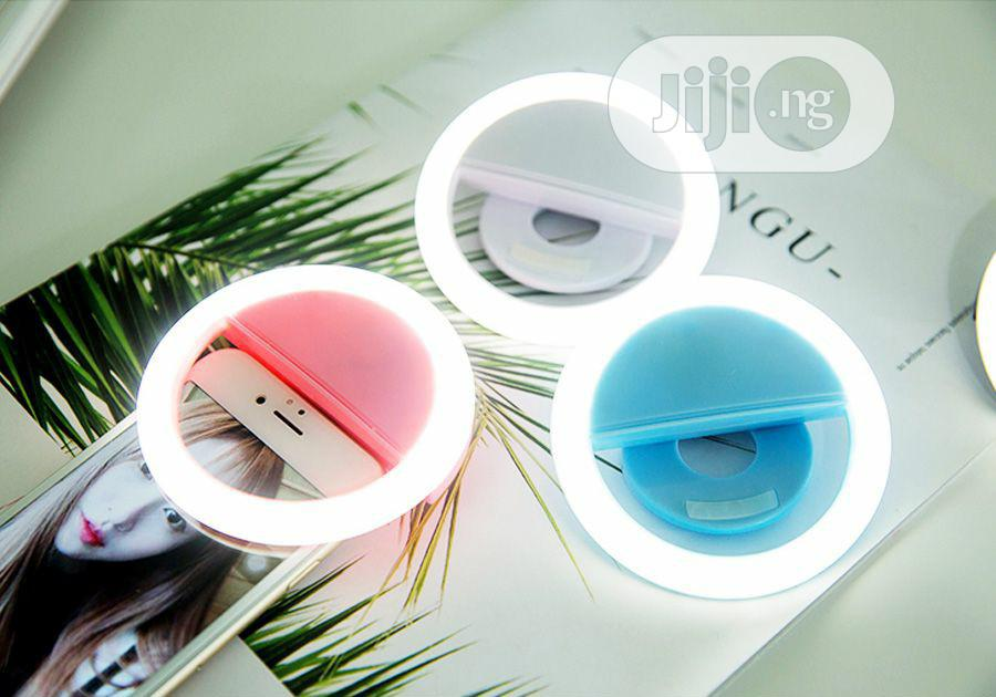 Rechargeable Selfie Led Ring Light For Smartphone