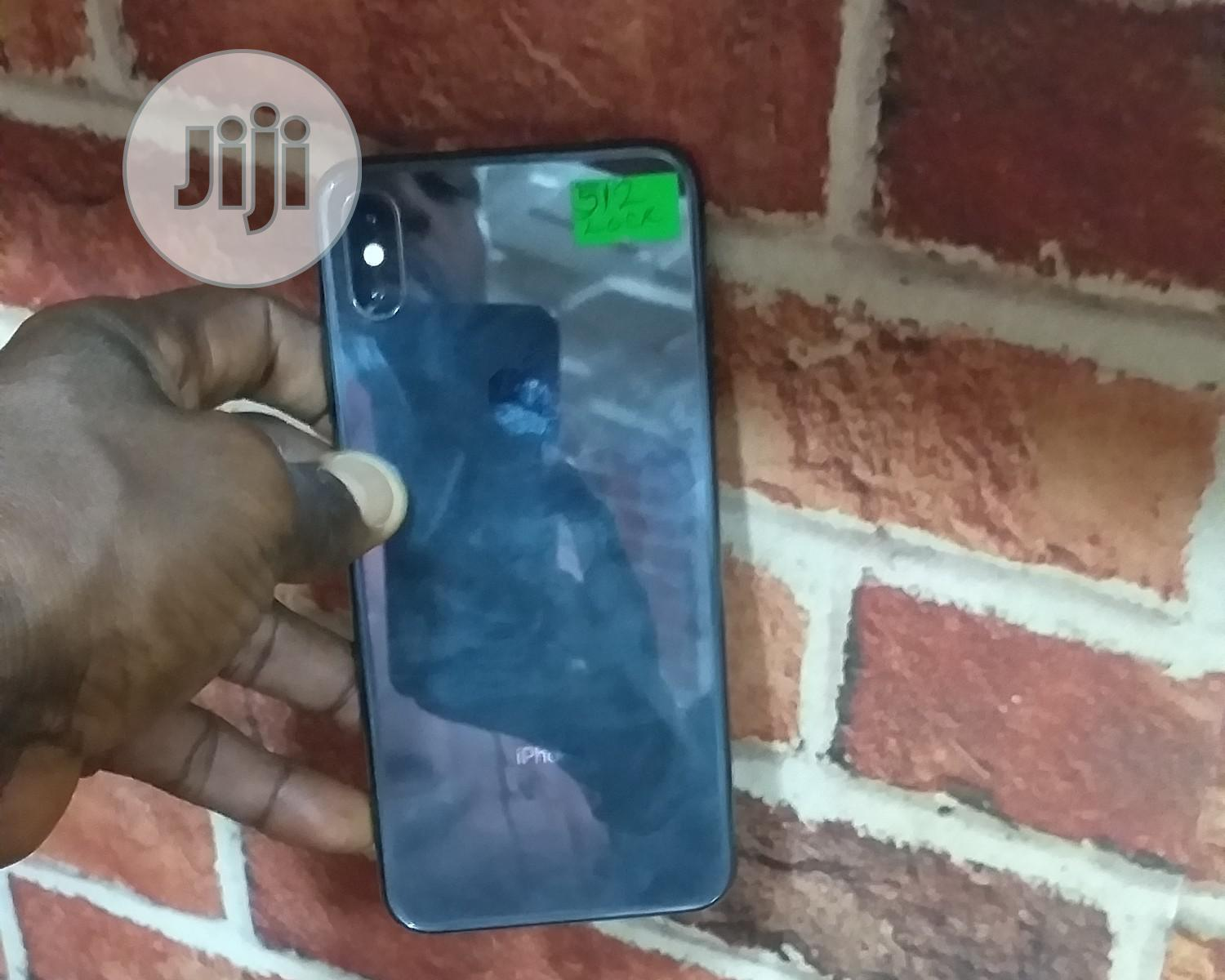 Apple iPhone XS Max 512 GB Black | Mobile Phones for sale in Ikeja, Lagos State, Nigeria