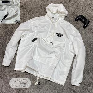Authentic Prada Hoodies(White Black) | Clothing for sale in Lagos State, Alimosho