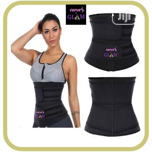 Double Compression Belt Fat Burner Neoprene Waist Trainer | Clothing Accessories for sale in Lagos State, Surulere