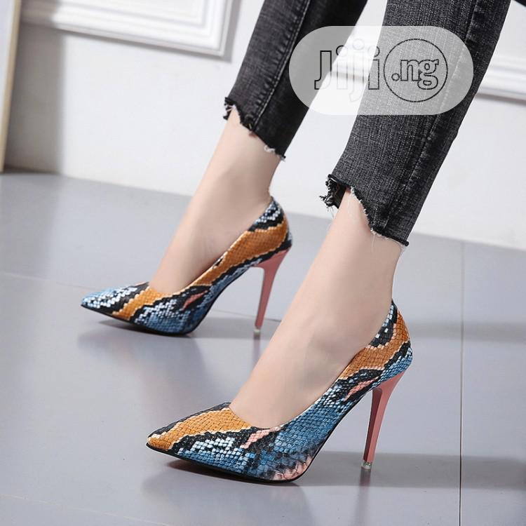 Archive: Multi Color Female Heels