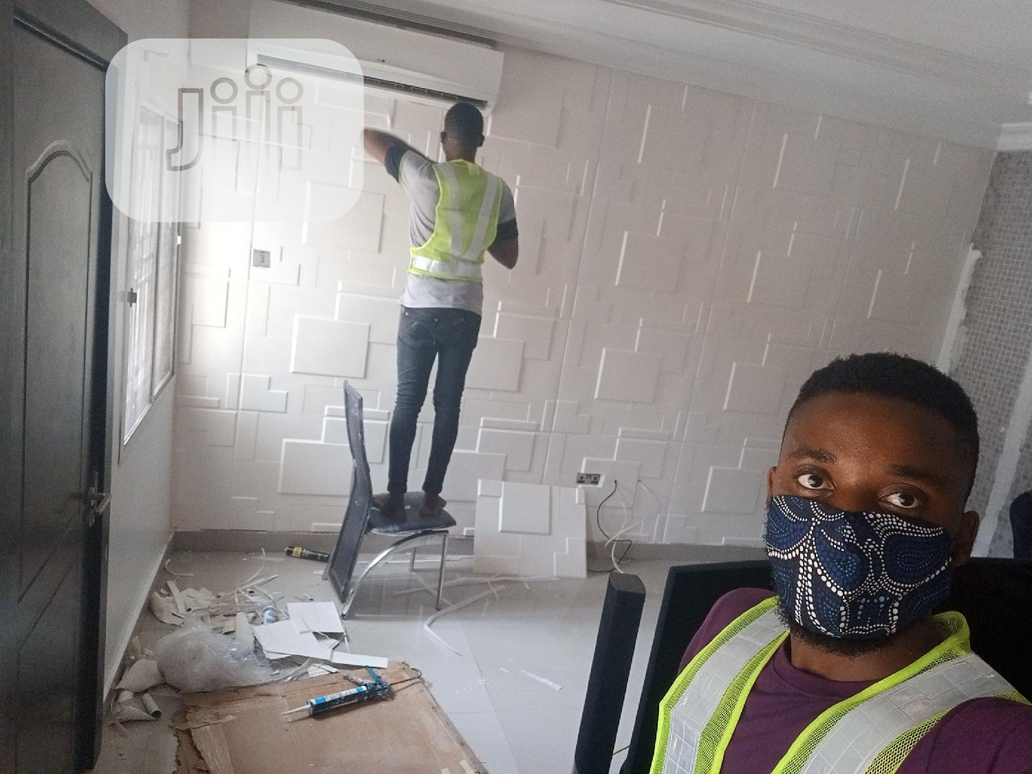 3D Wallpanel | Building & Trades Services for sale in Lugbe District, Abuja (FCT) State, Nigeria