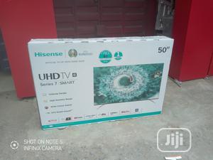 "New Hisense 50""Inch 4K Smart UHD Series 7{Netflix}Mira-cast | TV & DVD Equipment for sale in Lagos State, Ojo"