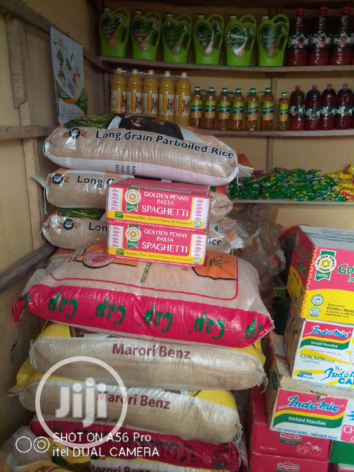 Bags Of First Grade Nigeria Rice And Original Foreign Rice