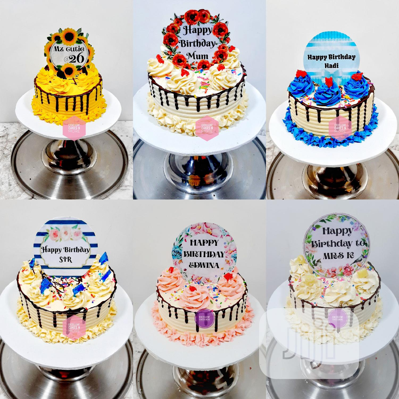 Birthday Cakes and Wedding Cakes