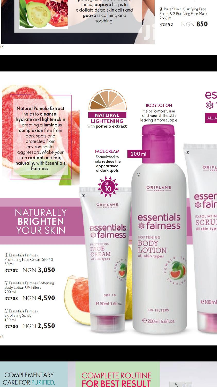 Oriflame Products In Lagelu Skin Care Akinola Oni Abiola Jiji