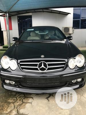 Mercedes-Benz CLK 2008 350 Coupe Black | Cars for sale in Lagos State, Ikeja