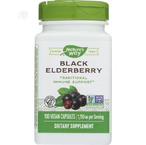 Nature's Way Black Elderberry 100caps | Vitamins & Supplements for sale in Lagos State, Yaba