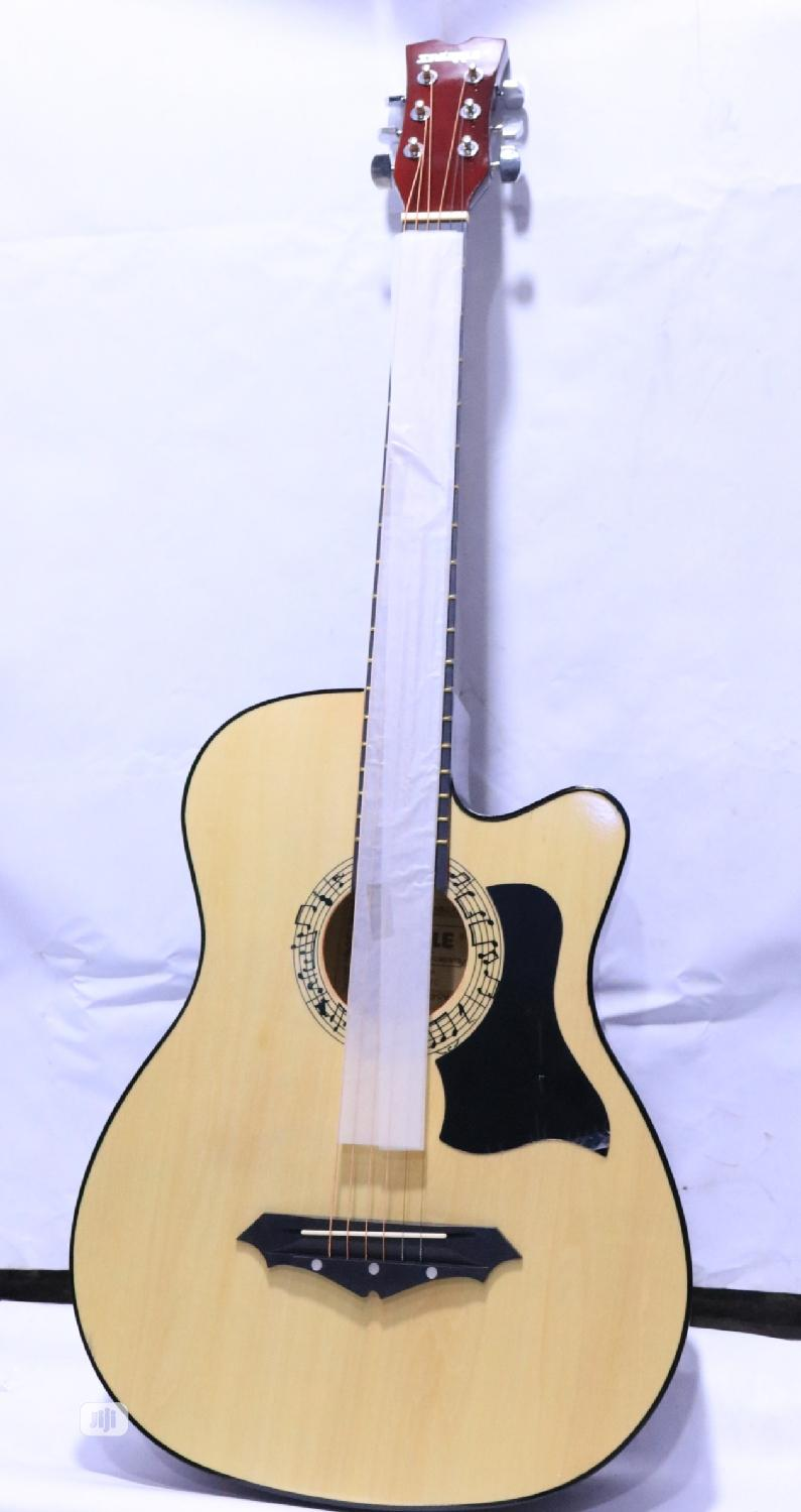 Medium Size Acoustic Guitar. | Musical Instruments & Gear for sale in Ikeja, Lagos State, Nigeria