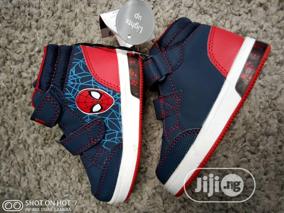 High Top Spiderman Sneakers