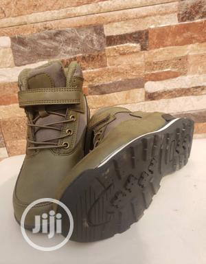High Top Army Green Sneakers   Children's Shoes for sale in Lagos State, Lagos Island (Eko)
