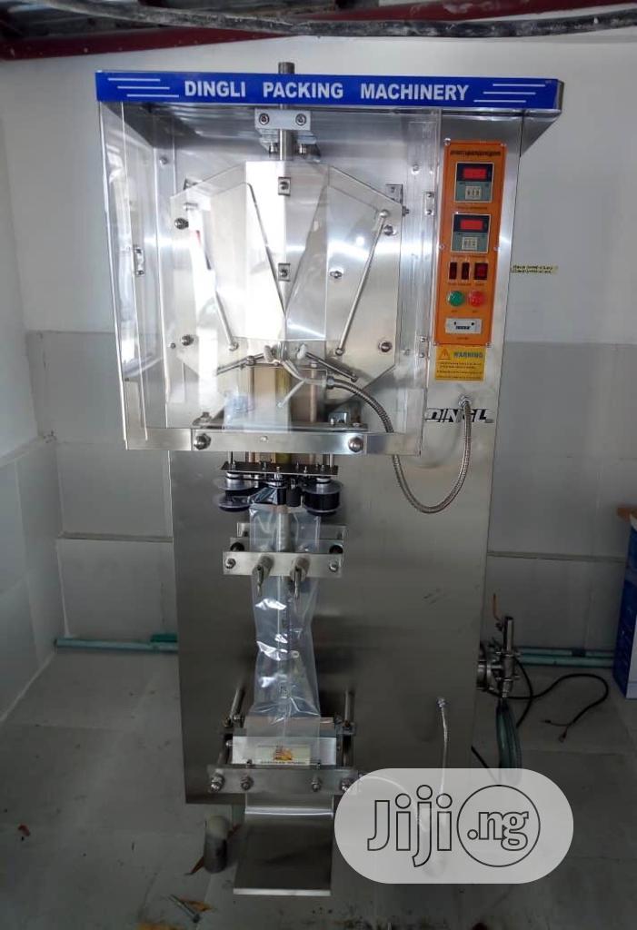 Sachet Water Complete Setup Sachet Water Machine