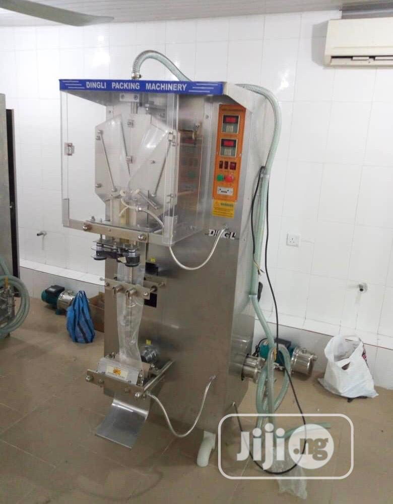 Sachet Water Complete Setup Sachet Water Machine | Manufacturing Equipment for sale in Ojo, Lagos State, Nigeria