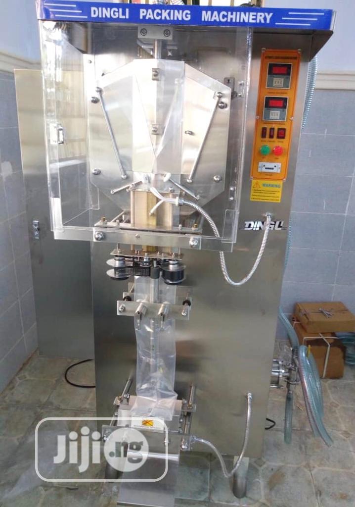 Sachet Water Production Sachet Water Machine