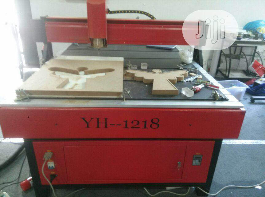 Wood Cnc Router Engraving Machine With 4.5kw Spindle | Manufacturing Equipment for sale in Ikeja, Lagos State, Nigeria