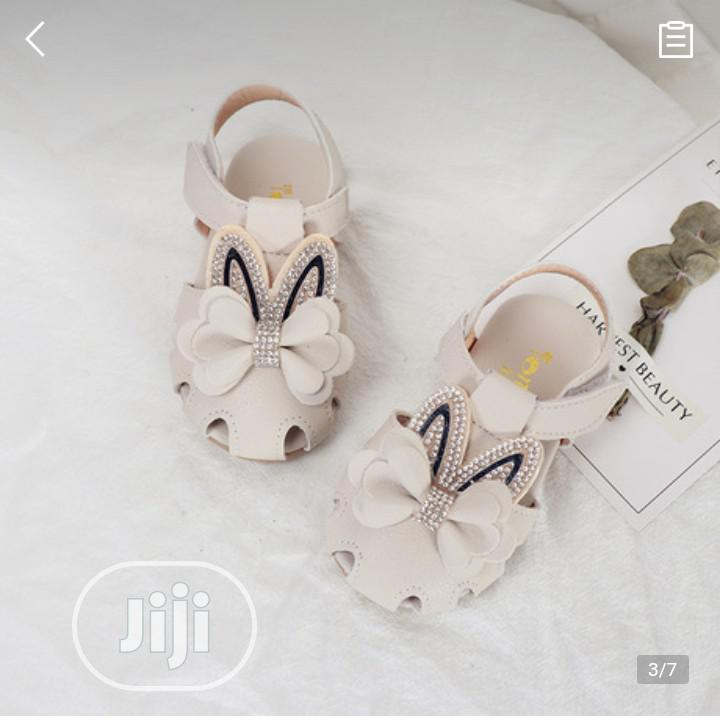 2020 Silver Bow Sandal Toddler Girl Shoes | Children's Shoes for sale in Alimosho, Lagos State, Nigeria