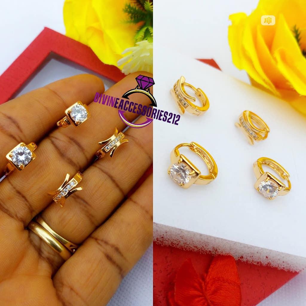 Romanian Clip Earrings With Gems 💎💎💎