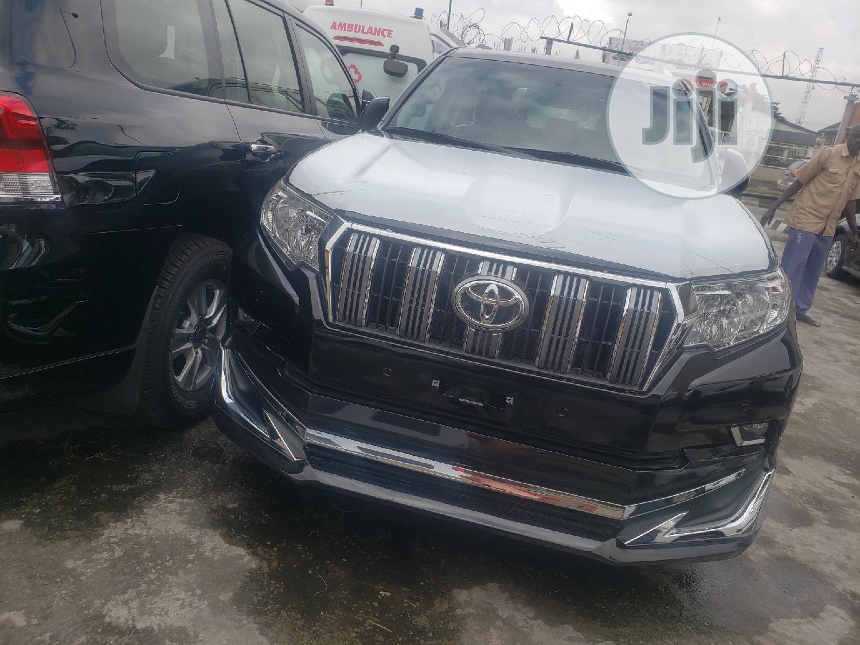 New Toyota Land Cruiser Prado 2019 Black