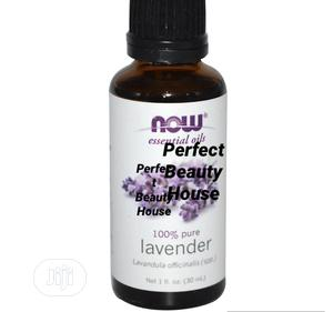 Now Foods Essential Oils Lavender 1 Fl Oz 30ML | Skin Care for sale in Lagos State, Ikeja