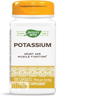 Nature's Way Potassium Citrate 99 Mg, 100 Caps | Vitamins & Supplements for sale in Lagos State, Lekki
