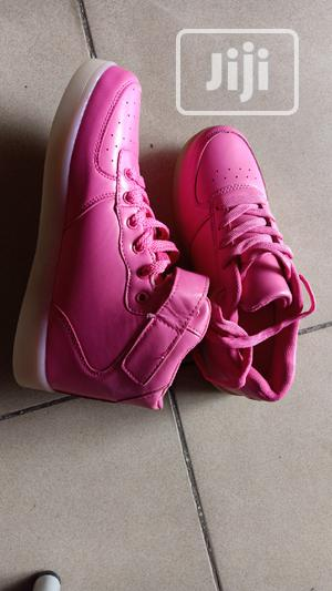 Pink Led Sneakers | Children's Shoes for sale in Lagos State, Lagos Island (Eko)