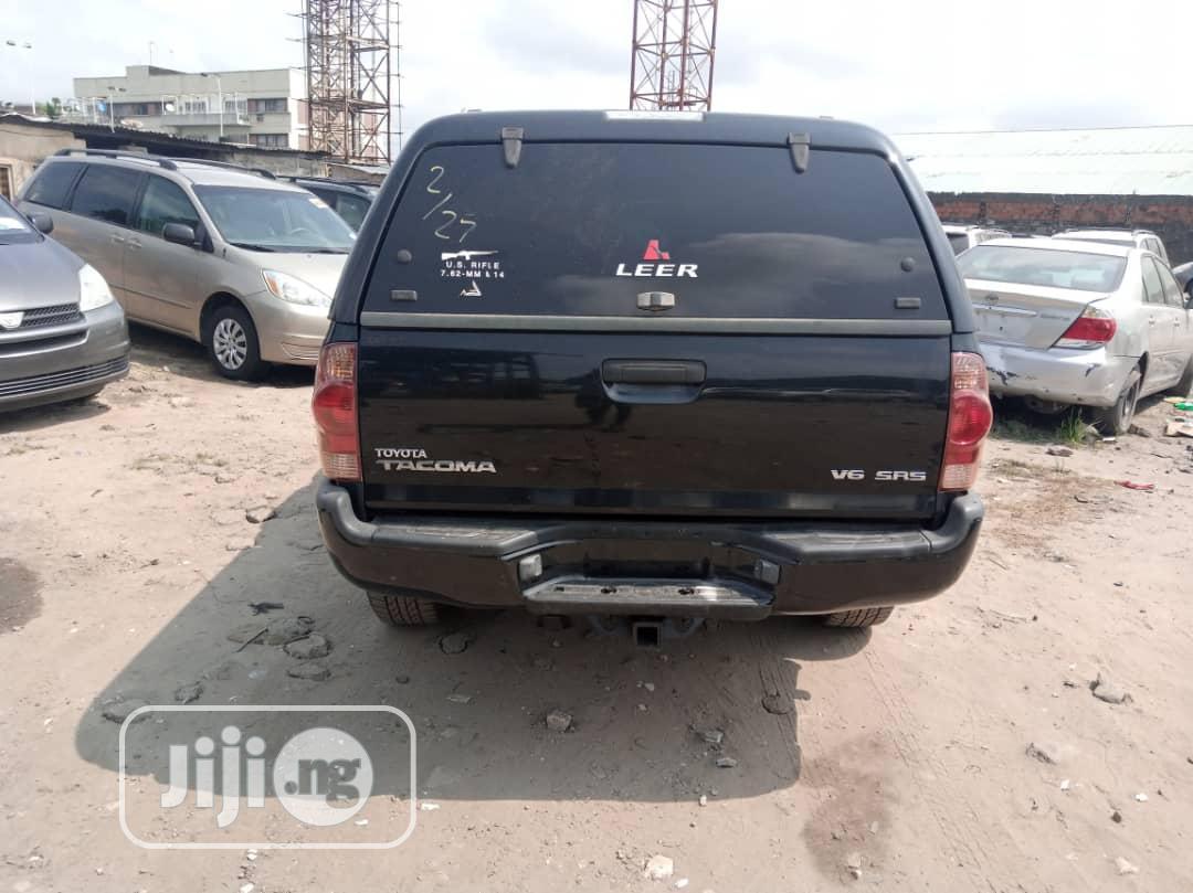 Toyota Tacoma 2005 Black | Cars for sale in Apapa, Lagos State, Nigeria