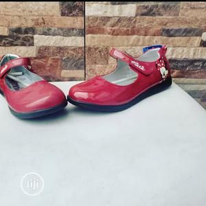 Wine Red Flat Shoes For Girls   Children's Shoes for sale in Lagos State, Lagos Island (Eko)