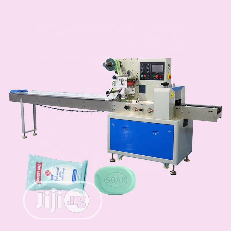 Bar Soap Flow Wrapping And Packaging Machine