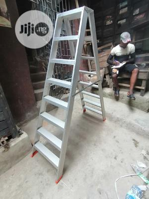 Heavy Duty Double Sideded 8 Steps Ladder | Hand Tools for sale in Lagos State, Maryland