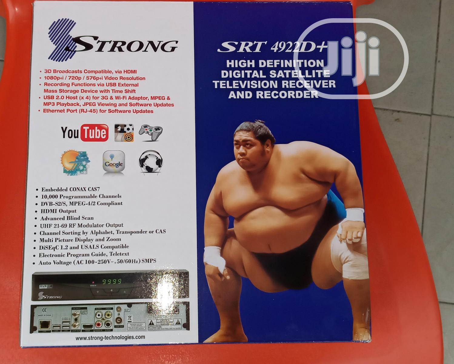 Strong Decoder SRT-4922D+   TV & DVD Equipment for sale in Port-Harcourt, Rivers State, Nigeria