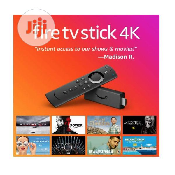 Amazon Fire TV Stick 4K | TV & DVD Equipment for sale in Ikeja, Lagos State, Nigeria