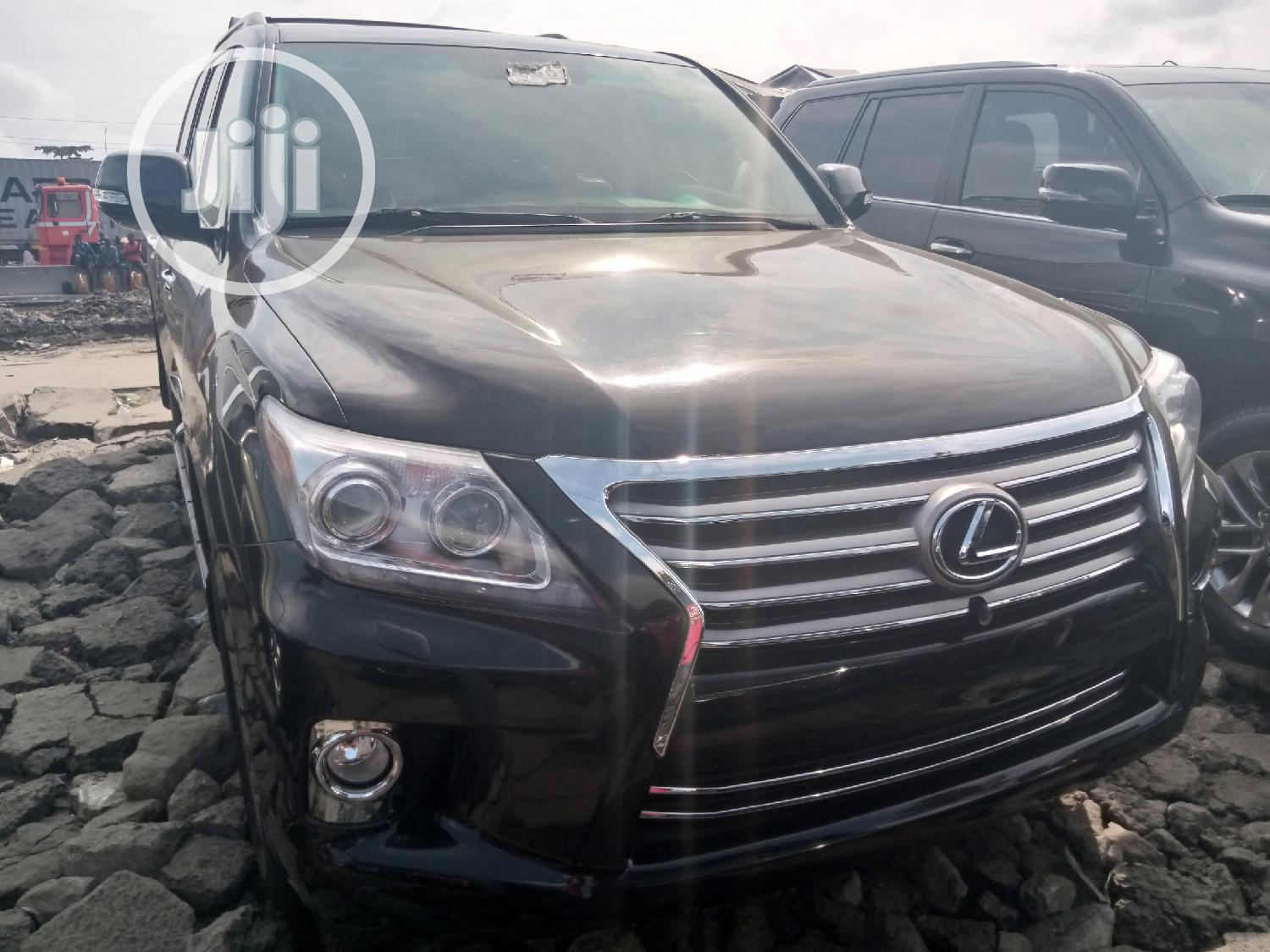 Archive: Lexus LX 570 2011 Black