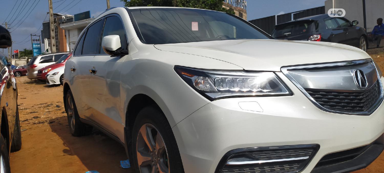 Archive: Acura MDX 2014 White