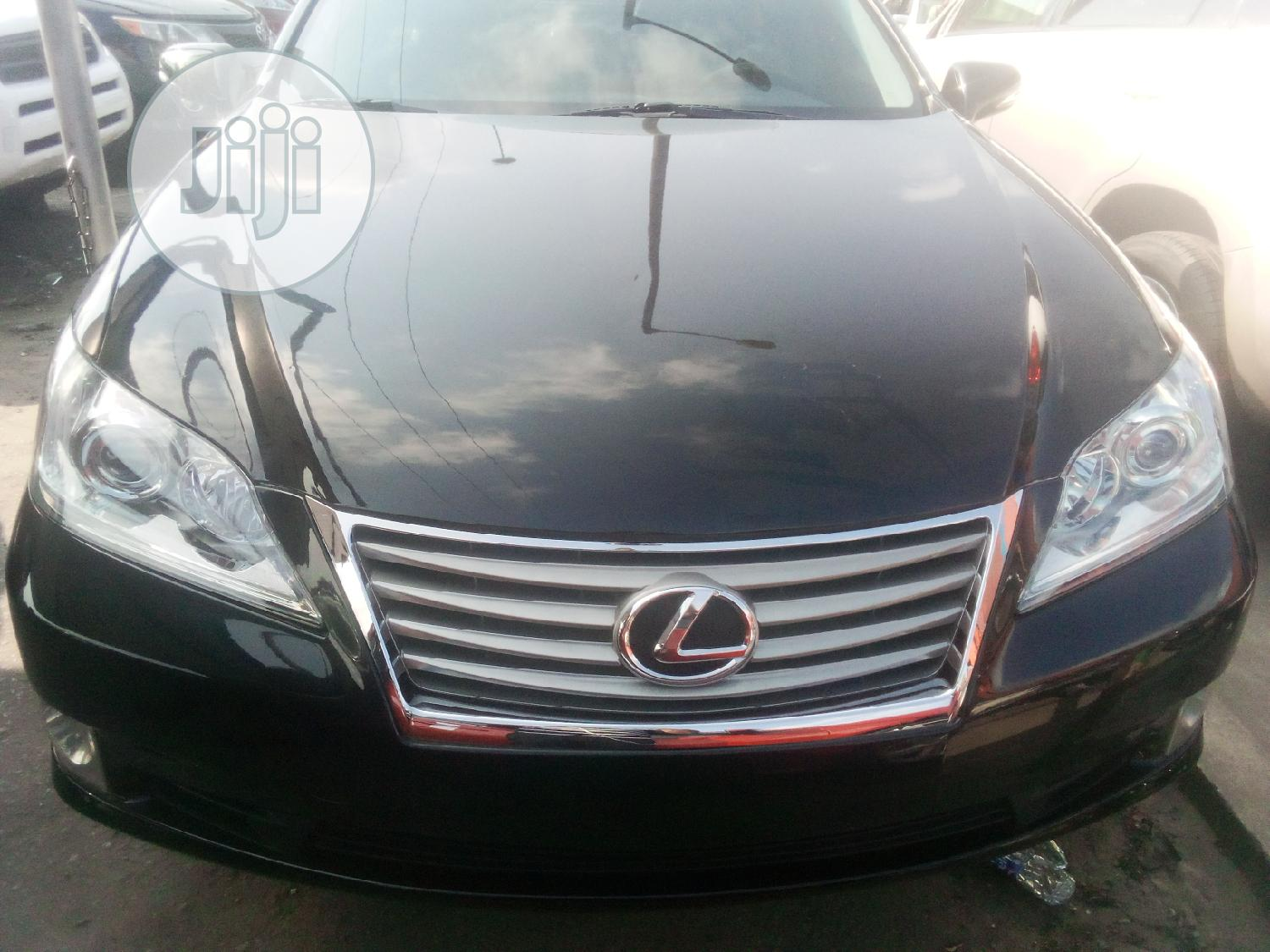 Lexus ES 2010 350 Black | Cars for sale in Apapa, Lagos State, Nigeria