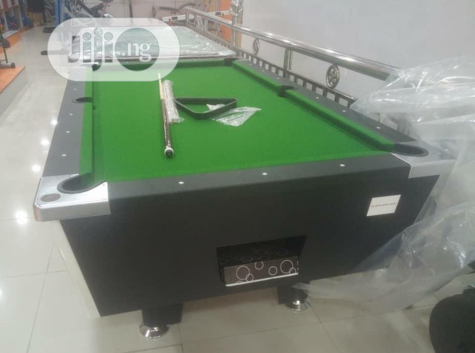 Coin Snooker Board With Accessories