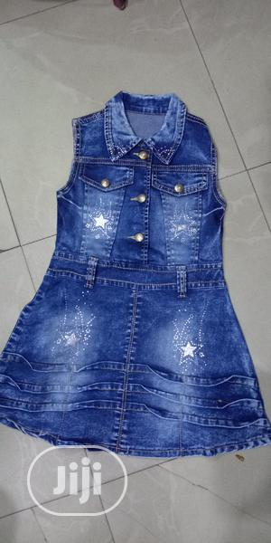 Kid's Jeans Gowns | Children's Clothing for sale in Lagos State, Lagos Island (Eko)