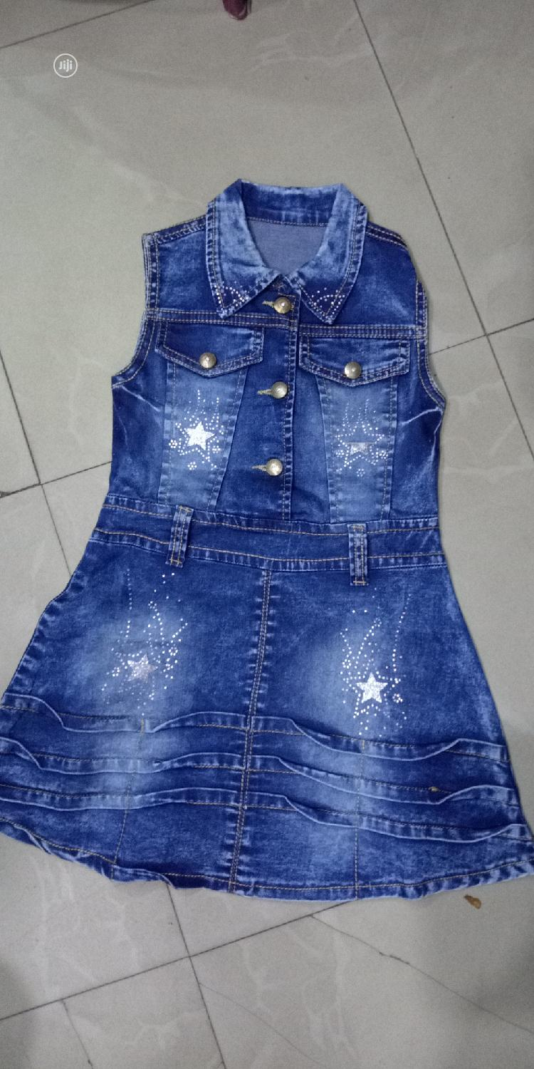 Kid's Jeans Gowns