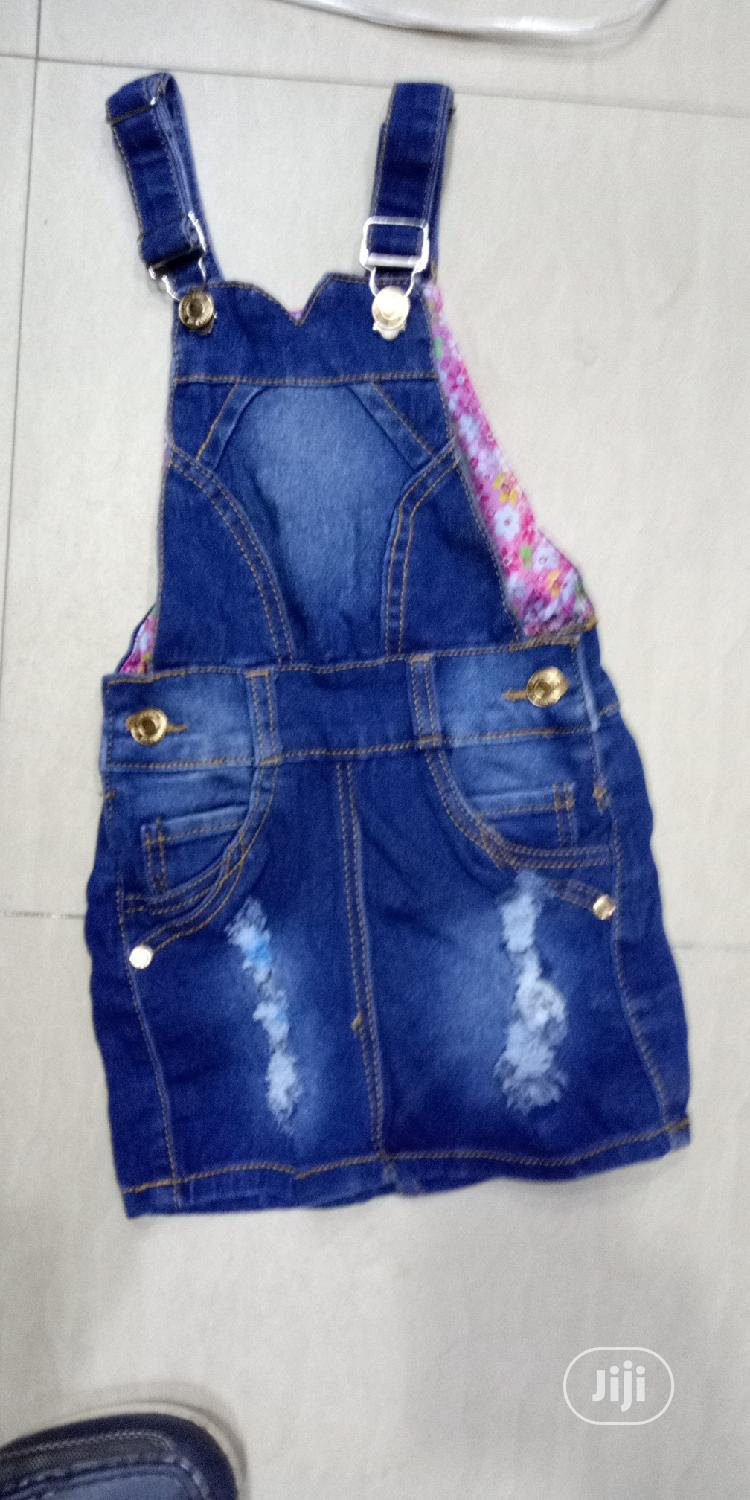 Kid's Jeans Gowns   Children's Clothing for sale in Lagos Island, Lagos State, Nigeria