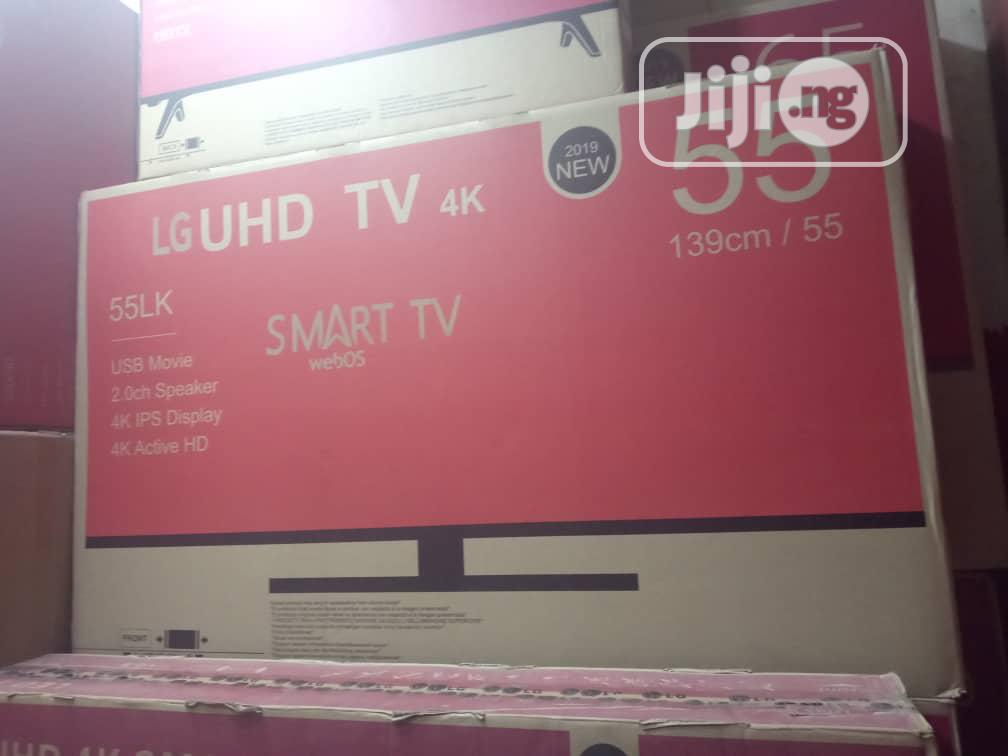 "Archive: Brand New LG LED 55"" Android Smart WI-FI 4K Slim Internet TV"