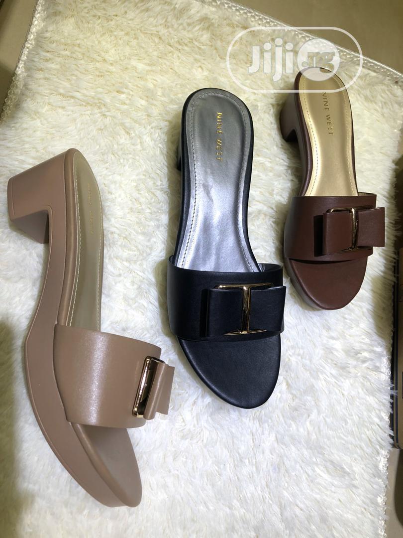 Quality Female Heel Slide Shoes