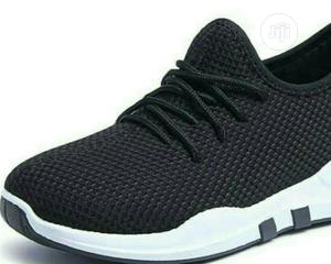 Black Sneakers Breathable Comfy   Shoes for sale in Lagos State, Agege