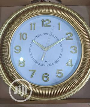 Golden Brown Clock   Home Accessories for sale in Lagos State, Lagos Island (Eko)