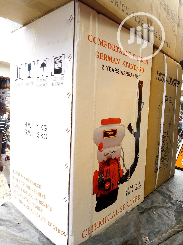 German Standard Comfortable Garden Pests Chemical Sprayer