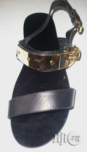 Giuseppe Zanotti Plated Double-strap Sandals For Men | Shoes for sale in Lagos State, Surulere